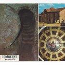 Turkey Derinkuyu Underground City Church Multiview Vintage Postcard 4X6
