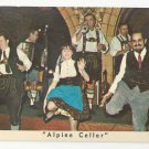 NY Mcalpin Hotel Alpine Cellar Restaurant Dancers Vntg New York City Postcard