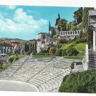 Italy Verona Roman Theatre Amphitheater Vintage Postcard 4X6