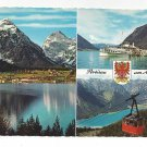 Austria Alps Pertisau Achensee Multview Vintage Postcard 4X6