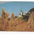 Germany Leiblfing Church Rich Harvest Kirche Vintage 4X6 Postcard