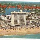FL Fort Lauderdale Hotels Motels Beach Greetings Vtg Aerial View Postcard