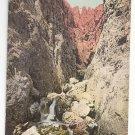 Austria Tirol Barenloch am weg zur Roterdspitze Vintage Postcard