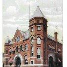 York PA US Post Office Vntg Postcard 1916 Flag Cancel