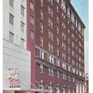 York PA Yorktowne Motel Hotel Parking Garage Vintage Postcard