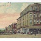 York PA North George St Spahr Building Vintage Postcard