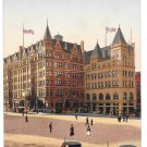 York PA Colonial Hotel Centre Square So George St Horse Carriage Vintage Postcard