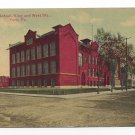 York PA Lincoln School King and West Streets Vntg Postcard