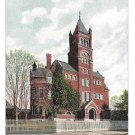 York PA Collegiate Institute Vintage 1907 Postcard College