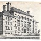 York PA High School Vintage 1906 Postcard Woodbine PA Doane Cancel