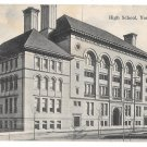 York PA High School Vintage 1906 Postcard J G McCrorey Publ.