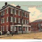 York PA Hospital and Dispensary Corner W College & Oak Lane Vntg Postcard