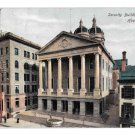 York PA Security Building and Court House Vintage ILPC Postcard