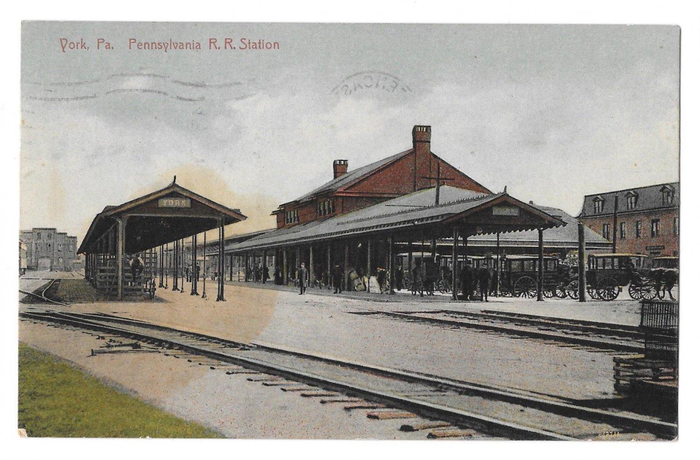 York PA Continental Congress Adjournment Drawing PMC Postcard 1907