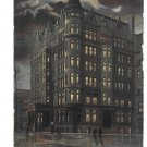 York PA Colonial Hotel Night View Vintage Postcard ILPC & Co.