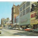 York PA Market St Looking East Continental Square Adlers Bears McCroreys Postcard