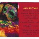 Invitation Postcard Unmask Domestic Violence 3rd Annual Gala Exton Chester County PA