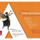 Art Trust Gallery Exhibition Women Artists Reception Advertising Postcard 2008