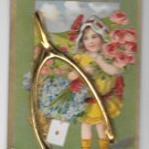 Gold Wishbone Add-On Many Happy Returns Birthday Vintage Novelty Postcard