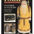 Modern Advertising Postcard York PA 2005 Folk Art and Craft Show Ramsey Santa