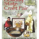 Holiday State Craft Fair Lancaster PA Modern Advertising Postcard Craftsmen Guild