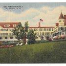 Plymouth NH Hotel Pemigewasset House Vintage Linen Postcard Curteich