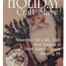 2005 Modern Advertising Postcard 56th Annual Holiday Craft Show Reading PA Santa