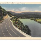 Chatanooga Tennessee US Hwy 41 Lookout Mountain Vintage Postcard