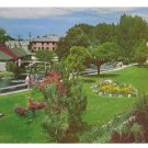 Idaho Lava Hot Springs Foundation Flower Gardens Mike Roberts Vintage Postcard