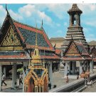 Bangkok Thailand Temple of Emerald Buddha Inside Wat Phra Kaew Vintage Postcard