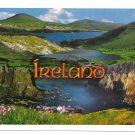 Ireland Panorama Galway Lake Hills John Hinde 4X6 Postcard