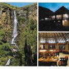 Africa Lesotho Hotel Multiview Molimo-Nthuse Lodge Waterfall Vintage 4X6 Postcard