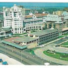 NJ Atlantic City Hotel Marlborough Blenheim Birds Eye View Vntg 1960s Postcard