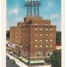 NY White Plains Roger Smith Hotel Vintage Linen Postcard