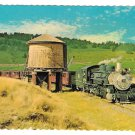 Cumbres and Toltec Steam Locomotive Water Tank Train Vintage RR Postcard 4X6