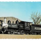 Rio Grande Southern Steam Locomotive Train Colorado RR Museum 4X6 Postcard