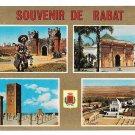 Africa Morocco Rabat Landmarks Buildings Multiview Postcard 4X6