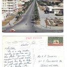Tunisia Tunis Avenue Mohamed V Cars Vintage Postcard 4X6 Sc 357 Jerid