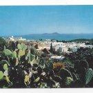 Tunisia Sidi Bou Said Panorama Vue Generale Cactus H Ismail Postcard 4X6