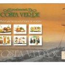 Lima Peru Restaurant Costa Verde Barranquito Beach Modern 4X6 Advertising Postcard