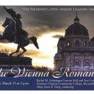 United States Marine Chamber Orchestra Concert Vienna Romantics Modern Advert Postcard