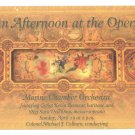 United States Marine Chamber Orchestra Concert Afternoon at the Opera Advert Postcard