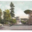 Italy Rome Appian Way Via Appia Tomb Cecilia Metella Vintage Blumlein UND Postcard
