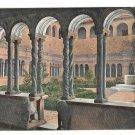 Italy Rome Monastery Cloister Chiostro S Giovanni in Laterano Vintage Alterocca Postcard