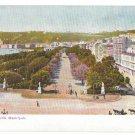 Naples Italy Napoli Villa Municipale Comunale Peoples Park Vintage Postcard