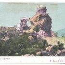 Italy Capri Faro di Tiberio Lighthouse Tiberius Vintage UND Postcard G Morgano