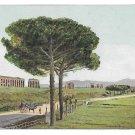 Italy Rome Acquedotti Via Appia Nuova Aquaduct Appian Way Vintage Postcard