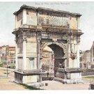 Italy Rome Arco di Tito Arch of Titus Foro Romano Vintage Blumlein UND Postcard