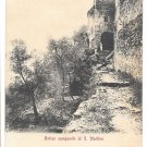 Italy Ravello Antico Campanile di S Martino Church Belltower UND Postcard
