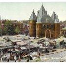 Netherlands Holland Amsterdam Nieuwmarkt met Waag New Market A Vigevano Postcard